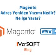 Magento adres yeniden yazımı nedir?
