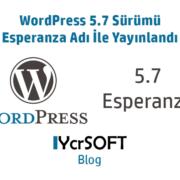 WordPress 5.7 Sürümü Esperanza Adı İle Yayınlandı