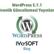 WordPress 5.7.1 güvenlik güncellemesi yayınlandı